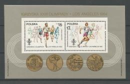 A01388)Polen Bl 94**, Olympia - 1944-.... République