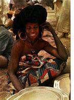 REPUBLIQUE DU NIGER JEUNE FEMME BORORO Superbe CPSM 15X10.5 Bon état Voir Scans - Niger