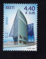 613845718 ESTLAND ESTONIA 2006 ** MNH  SCOTT  535 OPENING OP KUMU ART MUSEUM - Estonie