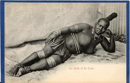 CPA Nu Féminin Femme Nue Ethnic Afrique Du Sud écrite - Afrique Du Sud, Est, Ouest