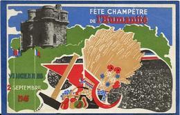 CPSM Parti Communiste Fête De L'humanité 1945 Vincennes Non Circulé - Partis Politiques & élections