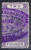 DO 6480 NEW ZEALAND FISCAAL YVERT NR 20 ZIE SCAN - Fiscaux-postaux