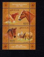613849423 ESTLAND ESTONIA 2006 ** MNH  SCOTT 548 TORI STUD FARM HORSES - Estonie