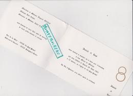 Vieux Papier:Faire Part  Mariage : La Haye  Pesnel -  Juvigny Le  Tertre - Faire-part