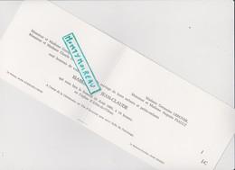 Vieux Papier:Faire Part  Mariage : Athis  De L ' Orne - Messei  , Prés  Flers - Unclassified