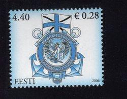 613849858 ESTLAND ESTONIA 2006 ** MNH  SCOTT 549 VICTORY DAY - Estonie