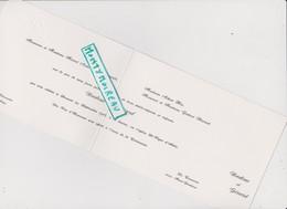 Vieux Papier:Faire Part  Mariage : Athis  De L ' Orne - Ménil Gondouin   , Prés  Flers - Unclassified