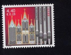 613850158 ESTLAND ESTONIA 2006 ** MNH  SCOTT 550 INTL ORGAN MUSIC FESTIVAL TALLIN - Estonie