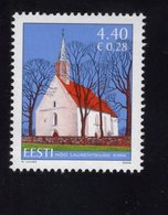 613850971 ESTLAND ESTONIA 2006 ** MNH  SCOTT 553 ST LAWRENCE S CHURCH NOO - Estonie