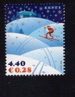 613852813 ESTLAND ESTONIA 2006 ** MNH  SCOTT 556 557 CHRISTMAS - Estonie