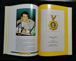 VALOUR AWARDS Orders Medals Independent Turkmenistan Ashgabat 2001 Album Catalog - Books, Magazines, Comics