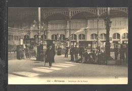 DF / CHEMINS DE FER / ORLÉANS - INTÉRIEUR DE LA GARE / ANIMÉE - Stations Without Trains
