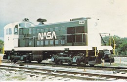 NASA'S ALCO S-1 SWITCHER NUMBER, USED BY NASA AT CPE CANAVERAL TO TRANSPORT MISSILES. CIRCA 1980's. USA- BLEUP - Treinen