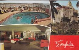THE NEW EVERGLAES HOTEL. PAN AMERICAN PRINTERS. VOYAGEE. CIRCA 1972. USA- BLEUP - Hotel's & Restaurants