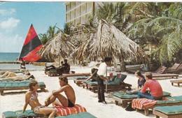 CARIB BEACH HOTEL. ST THOMAS, US VIRGIN ISLANS. ROBINSON INC. CIRCULEE ARGENTINE CIRCA 1974. USA- BLEUP - Hotel's & Restaurants