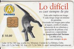 CUBA - Cat, Tirage 50000, Used - Cuba