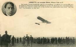 020818 - AVIATION LUSSETTI Sur Monoplan Blériot Moteur Viale ISSY LES MOULINEAUX Gendarme Contravention - Airmen, Fliers