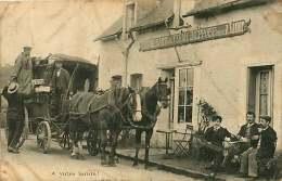020818 - 76 Restaurant De La Ferme Dieppoise Tenu Par A LANDRY - Diligence Poste - A Votre Santé ! - Dieppe