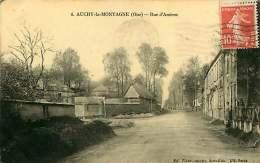 020818 - 60 AUCHY LA MONTAGNE Rue D'Amiens - France