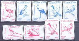 2017. Uzbekistan, Definitives, Birds Of Uzbekistan, Issue I, 9v, Mint/** - Uzbekistan