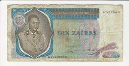 Zaire 10 Zaïres 1977 - Zaire