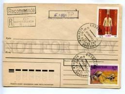 272817 Kazakhstan Ust-Kamenogorsk RUSSIA 1995 Registered COVER - Kazakhstan