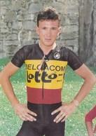 JOHAN MUSEEUW CHAMPION DE BELGIQUE 1992 (dil389) - Radsport