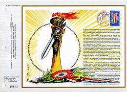 CEF 397 LE SOUVENIR FRANCAIS 1977 état Parfait - FDC