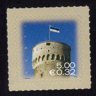 613860805 ESTLAND ESTONIA 2007 ** MNH  SCOTT 559 FLAG OVER PIKK HERMANN TOWER - Estonie