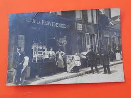 Vibraye , Carte Photo , Boutique De Mazairat Chiffonnier Vers 1910 . - Vibraye