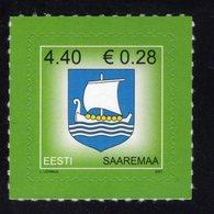 613861609 ESTLAND ESTONIA 2007 ** MNH  SCOTT 561 COUNTY ARMS SAAREMAA - Estonie