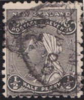 NZ    .     SG   .     271  .   1900   Doublr Lined  N.Z. And Star     .    O   .    Cancelled - Gebraucht