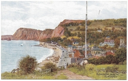 Sidmouth From The Flagstaff - A R Quinton - Salmon No 1798 - Unused C1920 - Quinton, AR