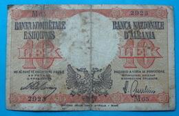 ALBANIA - ITALIA 10 LEK ND 1939 - Albanien