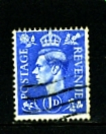 GREAT BRITAIN - 1951  KGVI  1d  COLOURS CHANGED  WMK INVERTED  FINE USED - Usati