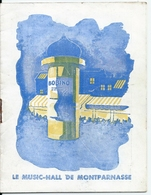 "Programme Bobino Music Hall Montparnasse 1948 Opérette ""Hier Contre Aujourd'hui""  Fernand Sardou Mona Goya Henri Niel - Programmes"