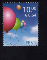 613864771 ESTLAND ESTONIA 2007 ** MNH  SCOTT 569 INT CHILDRENS DAY - Estonie