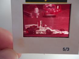 DIAPOSITIVE / SLIDE  ROLF STOMMELEN - EMBASSY RACING LOLA F1 1974 - Diapositives (slides)
