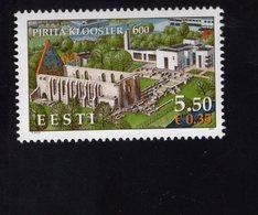 613865692 ESTLAND ESTONIA 2007 ** MNH  SCOTT 571 PIRITA CONVENT 600TH ANNIV - Estonie