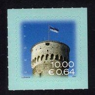 613867303 ESTLAND ESTONIA 2007 ** MNH  SCOTT 574 FLAG OVER PIKK HERMANN TOWER - Estonie