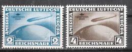 Reich Poste Aérienne N° 38 à 39 Neufs ** (anciennes Reproductions) - Luftpost