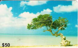 HONG KONG - Beach, Summer Prepaid Card $50, Exp.date 03/02, Used - Hong Kong