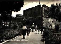 71460) CARTOLINA DI - MANFREDONIA-CASTELLO ANGIOINO - Manfredonia