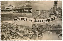 Blankenberge, BONJOUR De BLANKENBERGE 1959 - 40c Timbres - N° 41 Fabrication Fotoprim Brux. - Cpa/cpm - Blankenberge