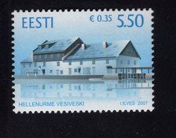 613868008 ESTLAND ESTONIA 2007 ** MNH  SCOTT 575 HEKKENURNE MILL - Estonie