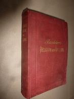 1894  BELGIQUE Et HOLLANDE (Belgium And Holland) Handbook For Travellers (Livre De Poche Pour Voyageurs) Par BAEDEKER - Autres Collections