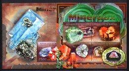 Serie De Minerales + Hb Minerales  De Burundi 2012 - Minerales
