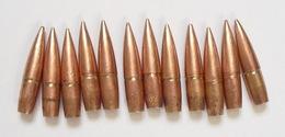 12 Ogives Françaises Cartouches 8mm Fusil Lebel  1914  1918 Ww1 Poilu - 1914-18