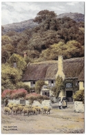 The Ship Inn Porlock Weir By A R Quinton - Unused C1936 - Salmon 1877 - Quinton, AR