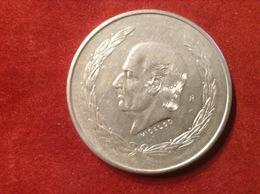 Münze Mexiko Silber 1952 Miguel Hidalgo Costilla Staatswappen - Mexico
